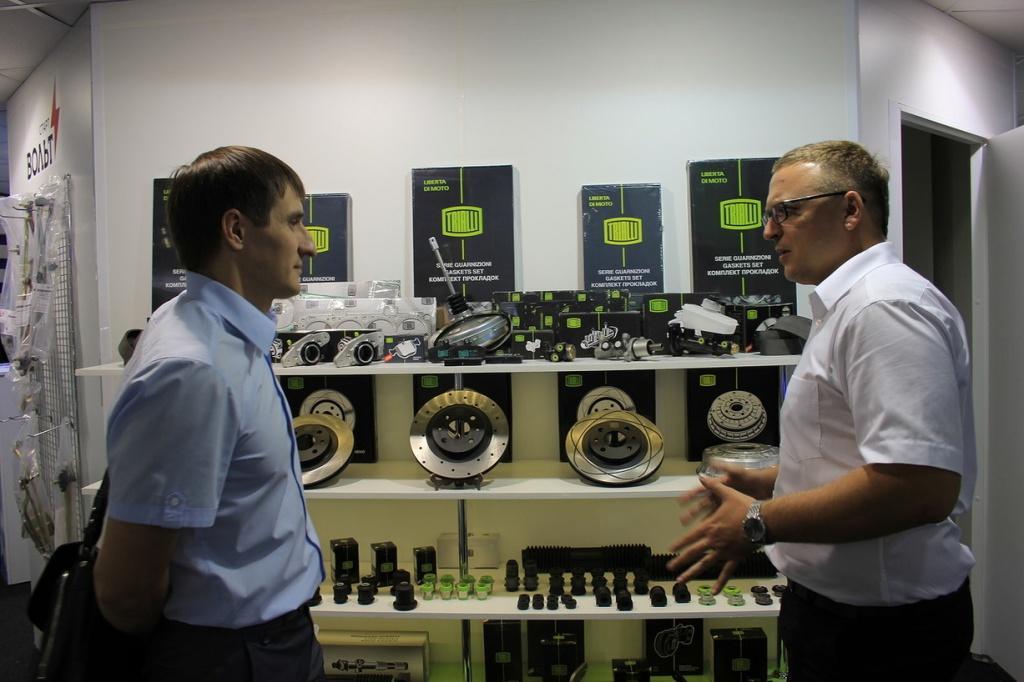 Кирилл Шипота, директор по маркетингу TRIALLI и гость выставки